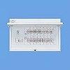 フタ付分電盤 単3 リミッタースペースなし 主幹ELB100A 回路数:24 + 4