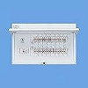 フタ付分電盤 単3 リミッタースペースなし 主幹ELB50A 回路数:22 + 2