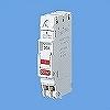 分岐用 コンパクトブレーカー(1Cモジュール)2P2E 30A 100V/200V切替 棒圧着端子同梱