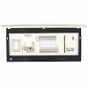 分電盤|enステーション  分電盤  露出型  太陽光発電+ガス発電+enサーバー搭載  単3  リミッタースペース付  主幹:ELB  60A  20  +0