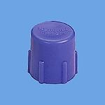 管端キャップ(パナチューブと兼用)(CD管用)(青)(14)