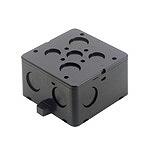 中型四角コンクリートボックス(ブラック)(中浅型)(44)
