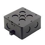 大型四角コンクリートボックス(ブラック)(大深型)(75)