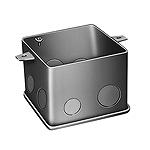 中型四角コンクリートボックス(鋼板製電気亜鉛めっき)(90)