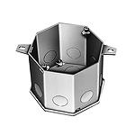 八角コンクリートボックス(鋼板製電気亜鉛めっき)(オールC19)(75)