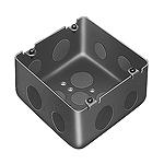 塗装大型四角アウトレットボックス深型(大深型・小ノック)(カチオン電着塗装仕上げ)(54)