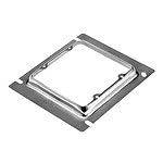 スイッチボックス用(2コ用)(鋼板製電気亜鉛めっき)(13ミリカバー)