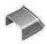 メタルモール付属品-ブッシング(A型)(ミルキーホワイト)