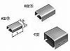 メタルモール付属品-ジョイントカップリング(C型)(ホワイト)