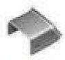 メタルモール付属品-ブッシング(C型)(亜鉛メッキ)