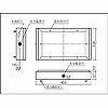誘導灯C級床埋込型用取付ボックス(FW10373・FW10376)