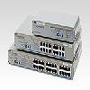 ギガビットイーサネット・スイッチ(10/100/1000BASE-Tポート)(自動認識)16ポート