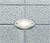 AU40211L:LED一体型エクステリア・アッパーライト 白熱球40W相当 埋込穴:φ77 屋外用 電球色