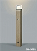 AU42284L:LED一体型エクステリア・ガーデンライト 白熱球60W相当 自動点滅器付 屋外用 電球色