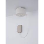 民泊施設向けLED非常灯・非常照明 電池内蔵コンセント型 リモコン自己点検機能付