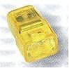 トーメーコネクタ(2P)(1箱50個)(イエロー)