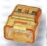 トーメーコネクタ(3P)(1箱50個)(オレンジ)