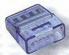 トーメーコネクタ(4P)(1箱50個)(ブルー)