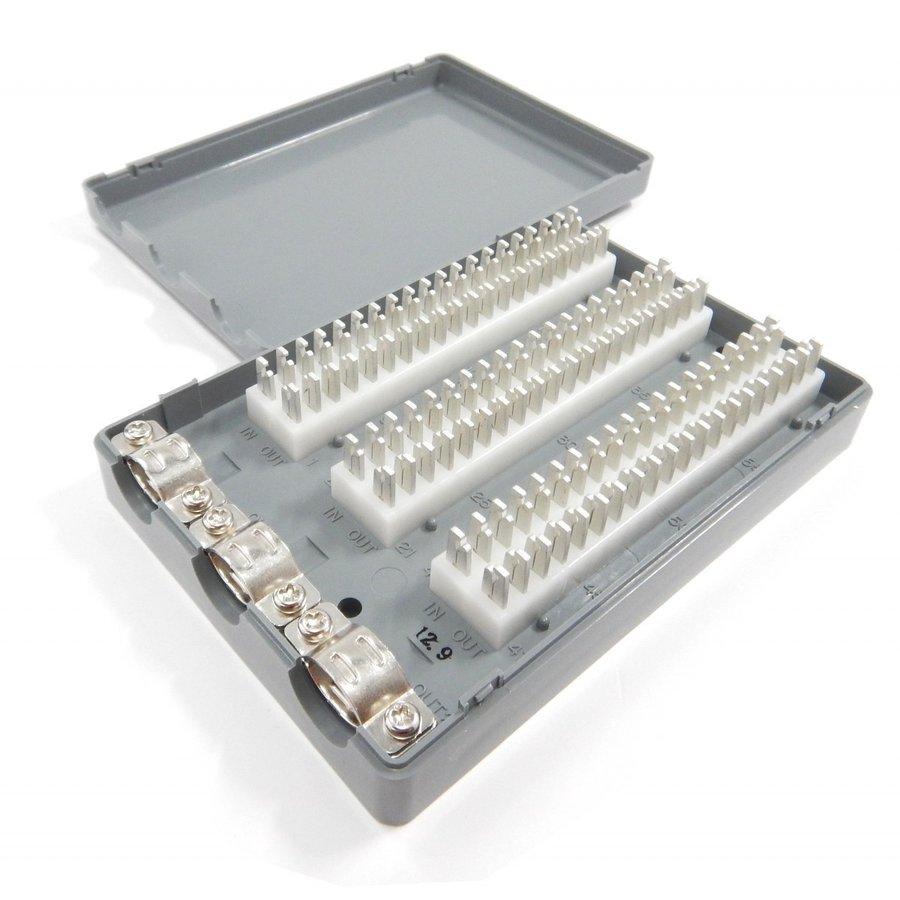 三和電気工業 クリップターミナル式 電子・デジタルボタン電話用端子板 Nシリーズ(60心) 2C-603DN
