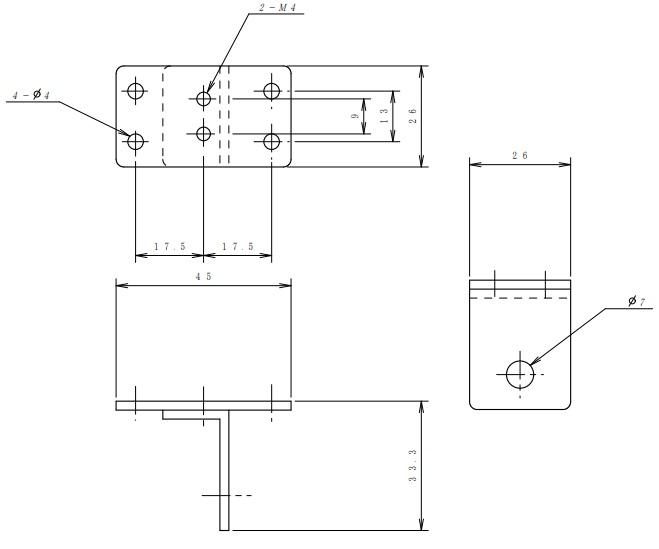 ヤマト通信工業 T型金物