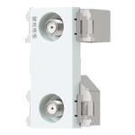 WCS3890CW:アドバンスシリーズ 埋込高シールドテレビターミナル 2端子(電流通過形)(10?2602MHz)(セラミックホワイト)