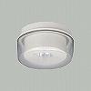 非常用照明器具(電池内蔵型)(食品工場向(HACCP対応))直付型低天井用30Wミニハロゲン1灯