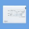 WTJ5548K:宅内LANパネル まとめてねット ギガ(光コンセント)(電話2外線タイプ)
