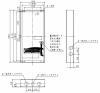 BV8921:小型総合盤 埋込ボックス T2型