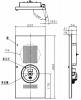 BV964401HK:小型総合盤 内器 P型2級
