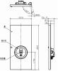 BV965401HK:小型総合盤(ベルなし) 内器 P型1級