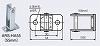 ARS-HA55:防火戸・防火扉用自動閉鎖装置(ラッチ式レリーズ:ARS-B104)用特殊フック