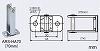 ARS-HA70:防火戸・防火扉用自動閉鎖装置(ラッチ式レリーズ:ARS-B104)用特殊フック