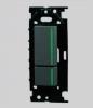 NKW02009SB:NKシリーズ|3路ガイドランプ付スイッチダブルセット 色:黒