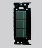 NKW03009SB:NKシリーズ|3路ガイドランプ付スイッチトリプルセット 色:黒