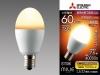 LDA8L−G−E17/60/S:LED電球 口金:E17 電球色
