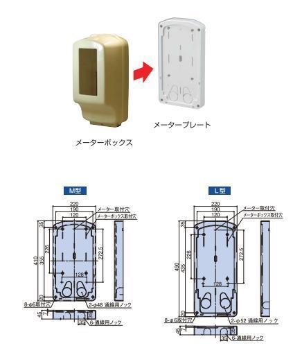 日動電工 NDMP,MCR 取付板 メータープレート 中部電力管内 計器